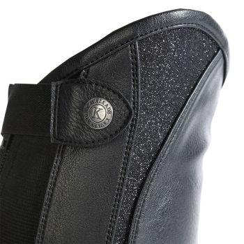 "Kavalkade ""Combi Fashion"" Half Chaps - Black (Price £45.83 Exc VAT or £55.00 Inc VAT)"