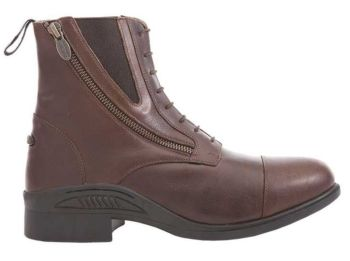 "Kavalkade ""Romulus"" Oiled Leather Side Zip Boots - Brown Leather (Price £85.00 Exc VAT or £102.00 Inc VAT)"