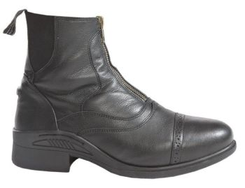 "Kavalkade ""Lucius"" Front Zip Boot - Black Leather (Price £74.99 Exc VAT or £89.99 Inc VAT)"
