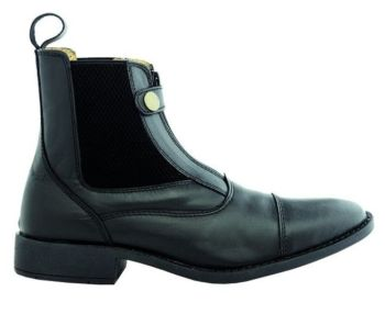 "Kavalkade ""Ecoline"" Jodpur Boot - Black Leather (Price £52.08 Exc VAT or £62.50 Inc VAT)"