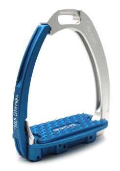 Tech Venice Light Safety Stirrups - Silver Blue (£257.50 Exc VAT & £309.00 Inc VAT)
