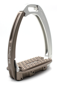 Tech Venice Light Safety Stirrups - Silver Brown (£257.50 Exc VAT & £309.00 Inc VAT)