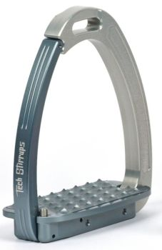 Tech Venice Light Safety Stirrups - Silver Titanium (£257.50 Exc VAT & £309.00 Inc VAT)