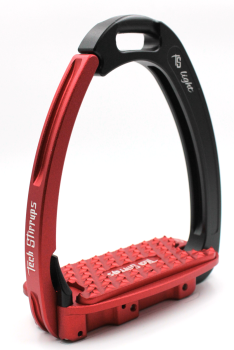 Tech Venice Light Safety Stirrups - Black Red (£257.50 Exc VAT & £309.00 Inc VAT)
