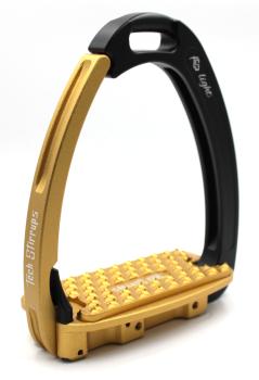 Tech Venice Light Safety Stirrups - Black Gold (£257.50 Exc VAT & £309.00 Inc VAT)