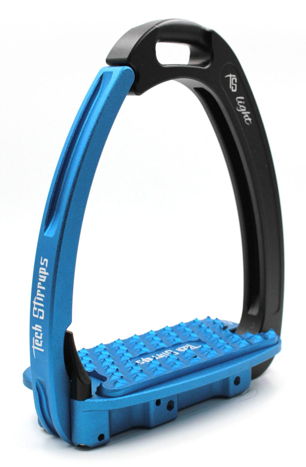 Tech Venice Light Safety Stirrups - Black Blue (£257.50 Exc VAT & £309.00 I
