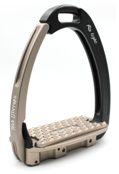 Tech Venice Light Safety Stirrups - Black Brown (£257.50 Exc VAT & £309.00 Inc VAT)