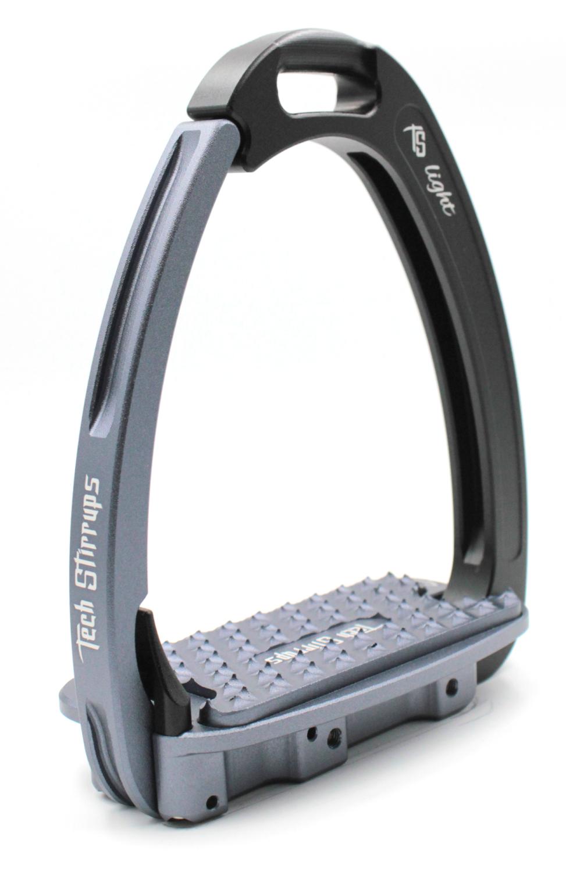 Tech Venice Light Safety Stirrups - Black Titanium (£257.50 Exc VAT & £309.