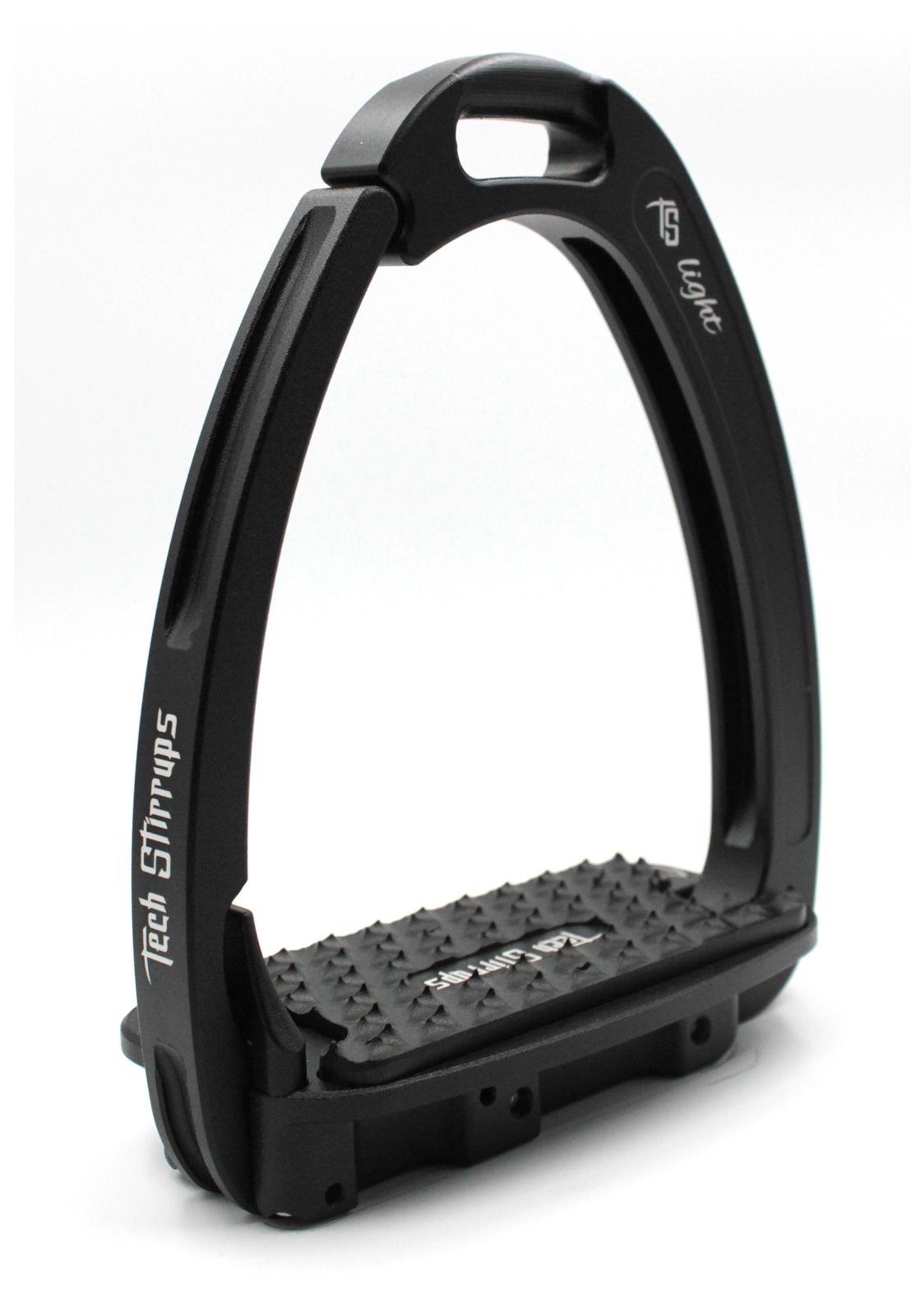 Tech Venice Light Safety Stirrups - Black Black (£257.50 Exc VAT & £309.00