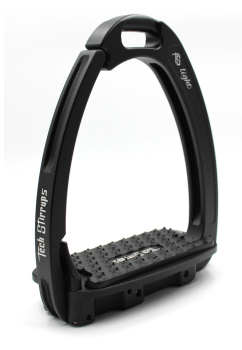 Tech Venice Light Safety Stirrups - Black Black (£257.50 Exc VAT & £309.00 Inc VAT)