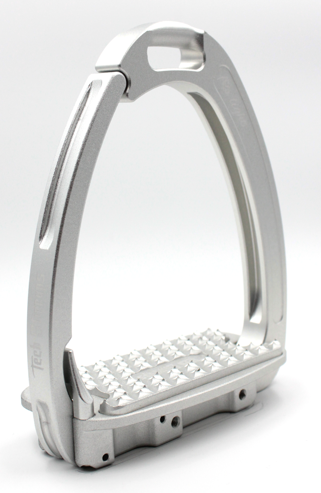 Tech Venice Light Safety Stirrups - Silver Silver (£257.50 Exc VAT & £309.0