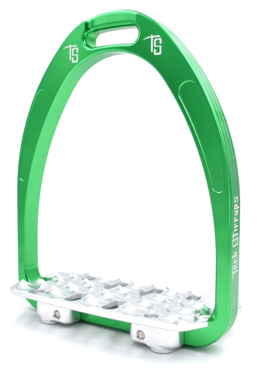 Tech Classic Endurance Stirrups - Green (£116.67 Exc VAT & £140.00 Inc VAT)