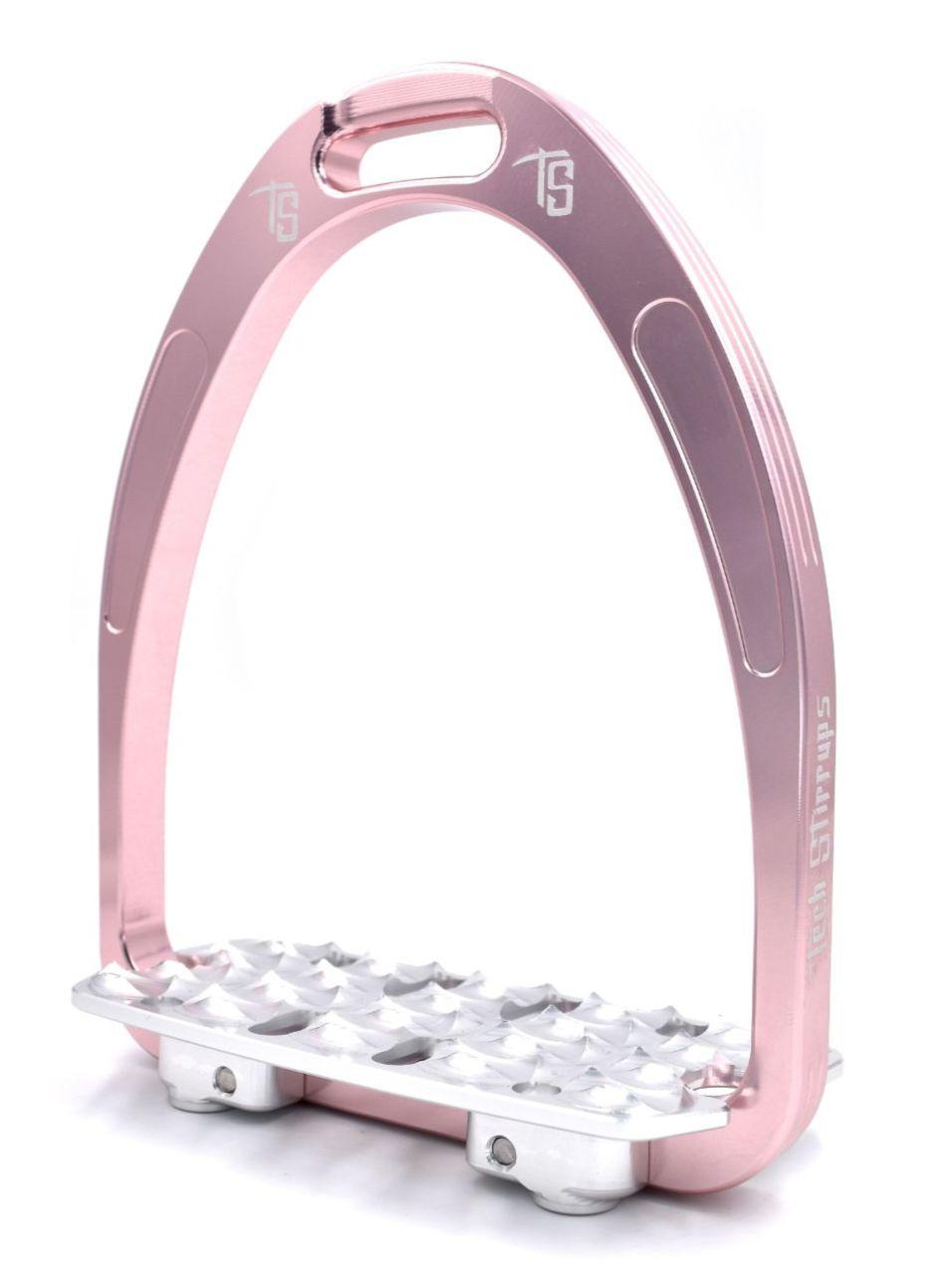 Tech Classic Endurance Stirrups - Pink (£116.67 Exc VAT & £140.00 Inc VAT)