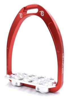 Tech Classic Endurance Stirrups - Red (£116.67 Exc VAT & £140.00 Inc VAT)