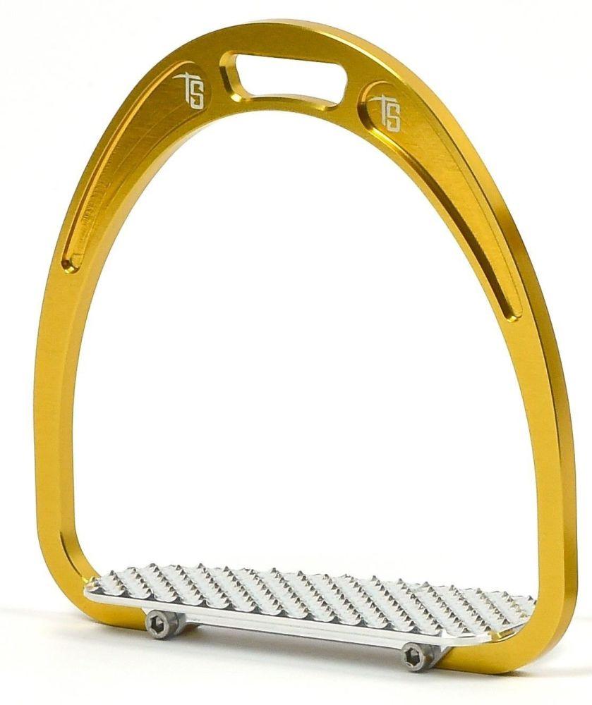 Tech Classic Racing Stirrup - Gold (£125.00 Exc VAT & £150.00 Inc VAT)