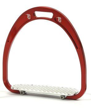 Tech Classic Racing Stirrup - Red (£125.00 Exc VAT & £150.00 Inc VAT)