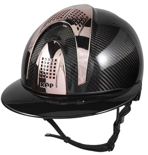 E-LIGHT SHINE BLACK WIDE VISOR - 3 GOLD ROSE INSERTS (£875.00 Exc VAT or £1