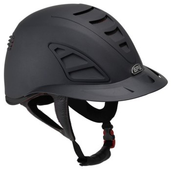 GPA Speed Air First Lady 4S REDLINE Collection Riding Helmet - Black/Black (£479.17 Exc VAT and £575.00 Inc VAT)