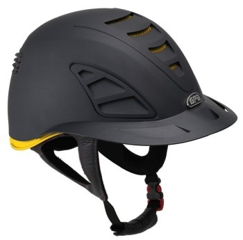 GPA Speed Air First Lady 4S REDLINE Collection Riding Helmet - Black/Yellow (£479.17 Exc VAT and £575.00 Inc VAT)