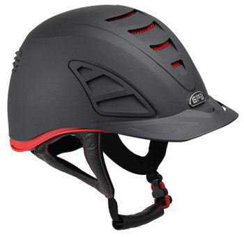 GPA Speed Air 4S REDLINE Collection Riding Helmet - Black/Red (£479.17 Exc VAT and £575.00 Inc VAT)