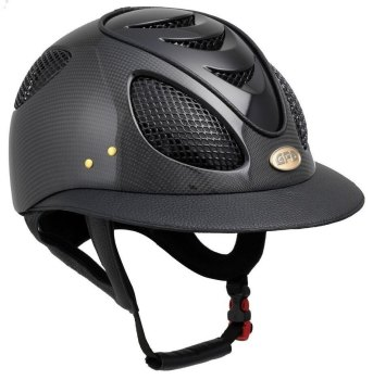 GPA First Lady Leather Carbon 2X Riding Helmet - Shiny or Matt Carbon, Choice of 4 Colours (£816.67 Exc VAT & £980.00 Inc VAT)