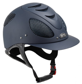 GPA New Generation EVO + 2X Harness Tone On Tone Riding Helmet - Navy With Navy Grill (£400.00 Exc VAT & £480.00 Inc VAT)