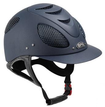 GPA New Generation EVO + 2X Harness Tone On Tone Riding Helmet - Navy With Navy Grill (£400.00 Exc VAT & £480.00 Inc VAT)