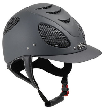 GPA New Generation EVO + 2X Harness Tone On Tone Riding Helmet - Grey With Grey Grill (£400.00 Exc VAT & £480.00 Inc VAT)