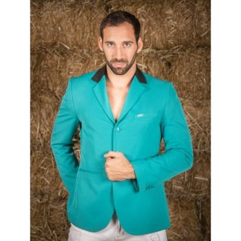 GPA NASKA Men's Show Jacket - Green with Black Collar (Price £249.17 Exc VAT & £299.00 Inc VAT)