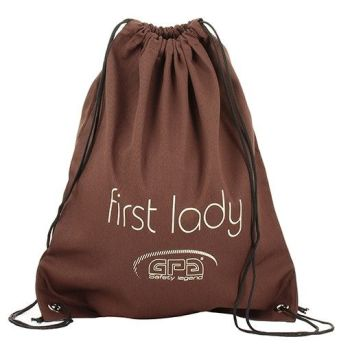 GPA First Lady Helmet Bag - Brown (Price £16.67 Exc VAT & £20.00 Inc VAT)