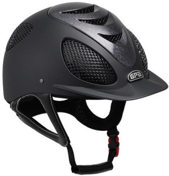 "GPA Speed' Air Evolution ""Stardust"" 2X Riding Helmet - Black with Stardust Vebnt (£424.17 Exc VAT & £509.00 Inc VAT)"