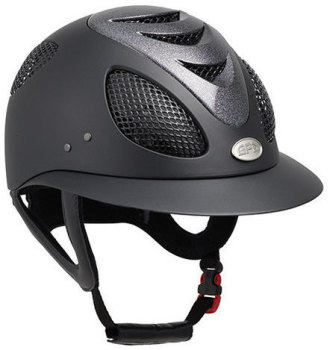 "GPA First Lady 2X ""Star Dust"" Riding Helmet - Black with Stardust Vent (£424.17 Exc VAT & £509.00 Inc VAT)"