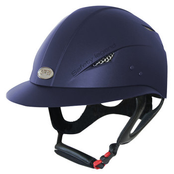 GPA Little Lady Riding Helmet - Navy (£237.50 Exc VAT & £285.00 Inc VAT)
