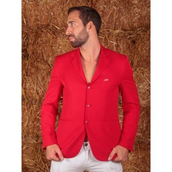 GPA NASKA Men's Show Jacket - Red (Price £220.83 Exc VAT & £265.00 Inc VAT)