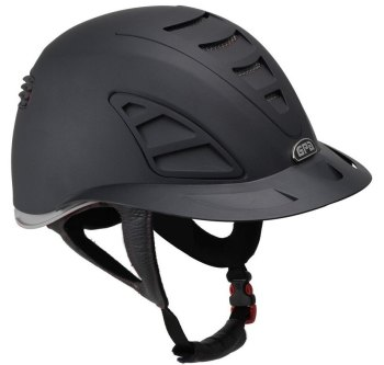 GPA Speed Air First Lady 4S REDLINE Collection Riding Helmet - Black/Grey (£479.17 Exc VAT and £575.00 Inc VAT)