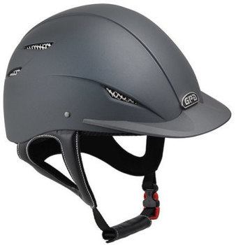 GPA Easy 2X Harness Riding Helmet - Grey (£237.50 Exc VAT & £285.00 Inc VAT)