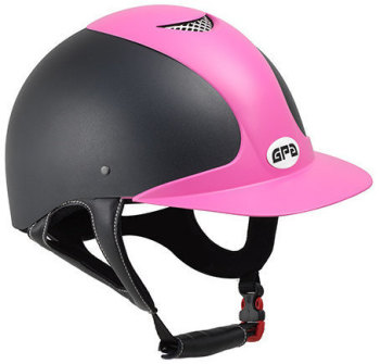 GPA Jimpi 2X Harness Riding Helmet - Black/Pink (£174.17 Exc VAT & £209.00 Inc VAT)