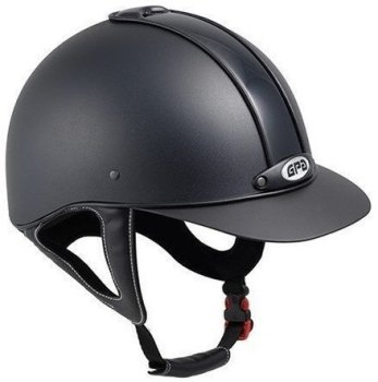 GPA New Classic 2X Harness Riding Helmet - Black (£229.17 Exc VAT & £275.00 Inc VAT)