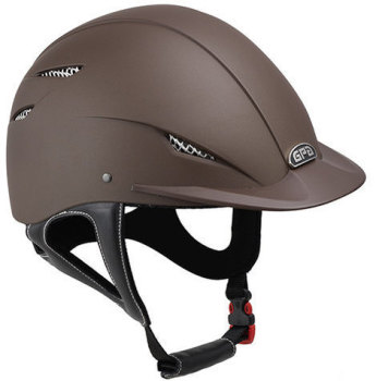 GPA Easy 2X Harness Riding Helmet - Brown (£237.50 Exc VAT & £285.00 Inc VAT)