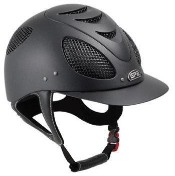 GPA New Generation EVO + Tone On Tone 2X Riding Helmet - Black With Black Grill (£400.00 Exc VAT & £480.00 Inc VAT)
