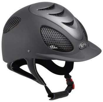 GPA Speed' Air Evolution 2X Riding Helmet - Grey/Titane (£400.00 Exc VAT & £480.00 Inc VAT)