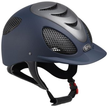 GPA Speed' Air Evolution Riding Helmet - Navy/Titane (£400.00 Exc VAT & £480.00 Inc VAT)