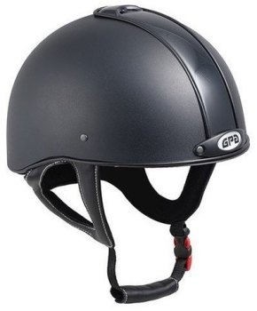 GPA Jock Up 3 2X Riding Helmet - Black Tone on Tone (£229.17 Exc VAT & £275.00 Inc VAT)