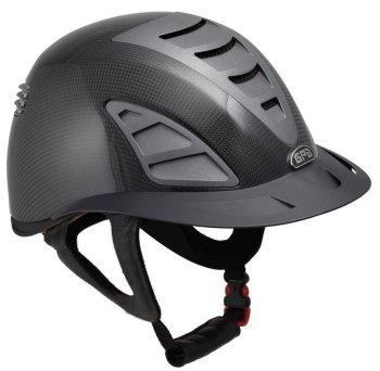 GPA First Lady Carbon 4S REDLINE Collection Riding Helmet - Shiny Carbon/Black (£958.33 Exc VAT & £1150.00 Inc VAT)