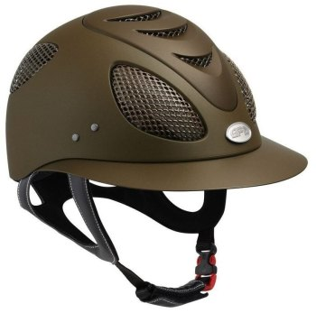 GPA First Lady 2X Riding Helmet - Brown (£400.00 Exc VAT & £480.00 Inc VAT)
