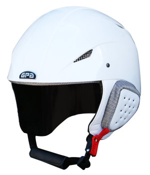 GPA Speed Sport Ski Helmet - White - £270.00 (Exc VAT) or £324.00 (Inc VAT)
