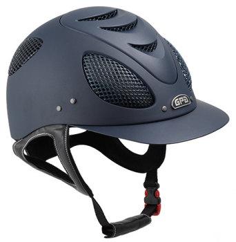 GPA New Generation EVO + 2X Riding Helmet - Navy With Silver Grill (£400.00 Exc VAT & £480.00 Inc VAT)