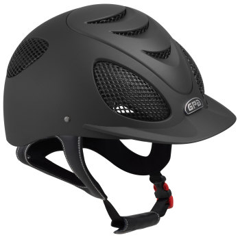GPA Speed' Air Evolution 2X Riding Helmet - Black (£400.00 Exc VAT & £480.00 Inc VAT)