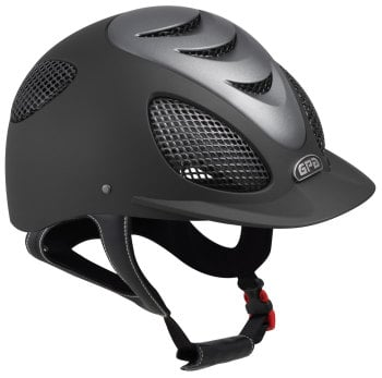GPA Speed' Air Evolution 2X Riding Helmet - Black/Titane (£400.00 Exc VAT & £480.00 Inc VAT)