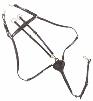 "Breastplate ""Lorenz"" 3 point-high cut (£75.00 Exc VAT & £90.00 Inc VAT) Product Code 168 68"